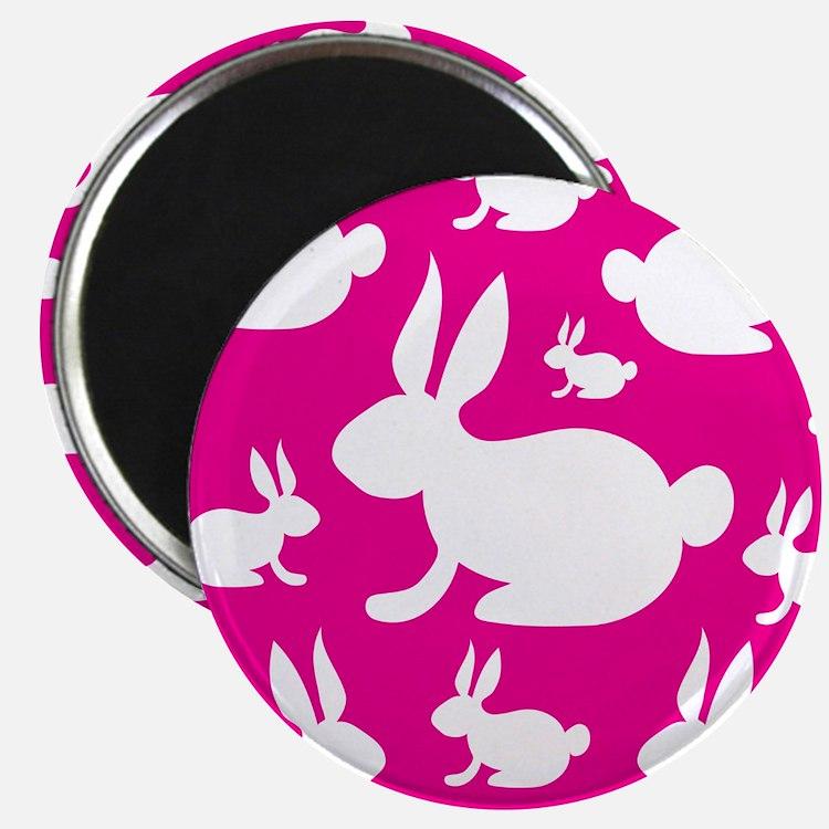 Bunny Rabbit Pattern Magnet