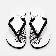 Love Krystal Flip Flops