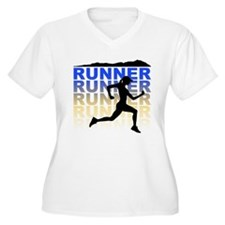 runner Plus Size T-Shirt