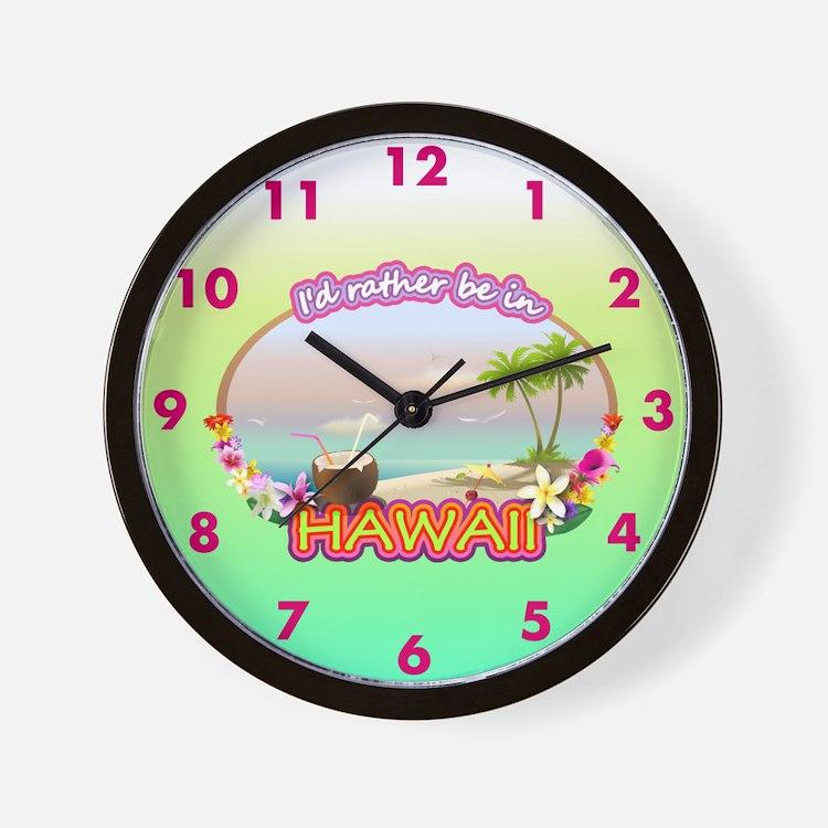 HAWAII 2.png Wall Clock