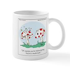 Hallucinating Mushroom Mug