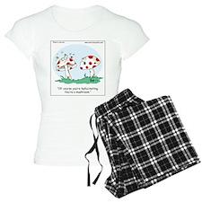 Hallucinating Mushroom Pajamas