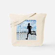 runner.png Tote Bag