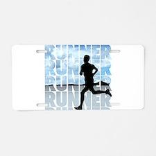 runner.png Aluminum License Plate