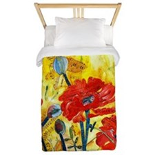 Anticipation Poppies Twin Duvet