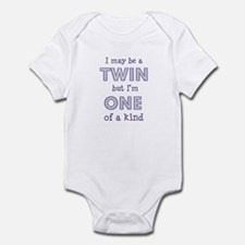 twin - one of a kind Infant Creeper