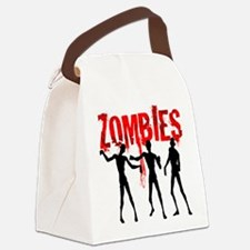 zombie.png Canvas Lunch Bag