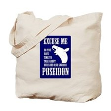 Our Lord and Saviour Poseidon Tote Bag