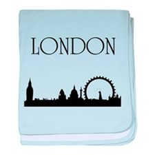 London baby blanket