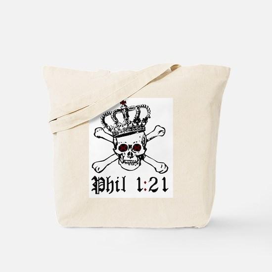 To Die Is Gain Tote Bag