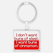 Cinnamon Buns Landscape Keychain