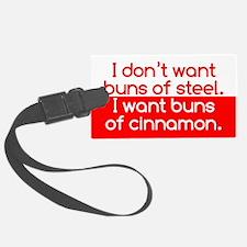 Cinnamon Buns Luggage Tag