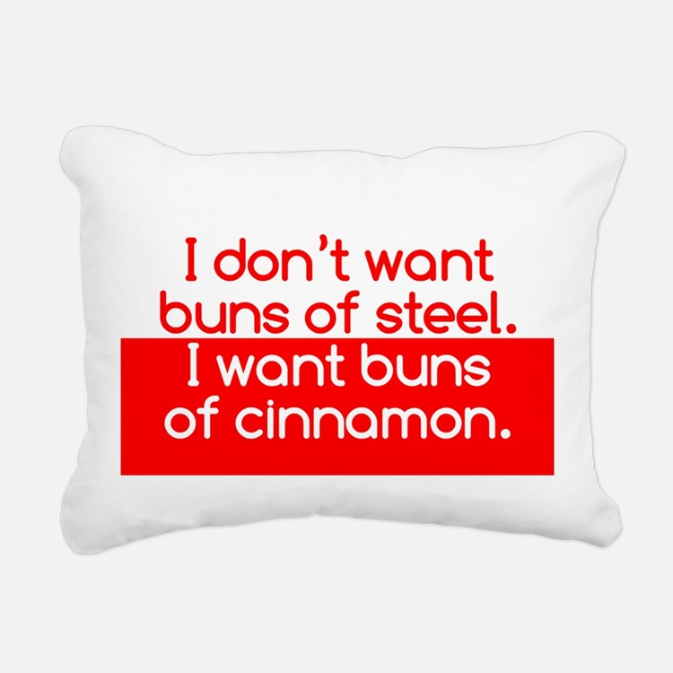 Cinnamon Buns Rectangular Canvas Pillow