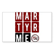 Martyr Me Decal