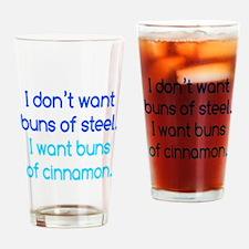 Cinnamon Buns Drinking Glass