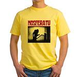 Nosferatu Design-02 Yellow T-Shirt
