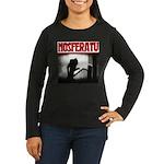 Nosferatu Design-02 Women's Long Sleeve Dark T-Shi