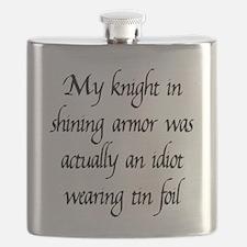Knight in Shining Armor Flask