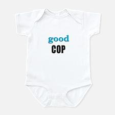 IVF Good Cop Twin Infant Creeper