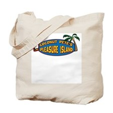 Coconut Pete's Pleasure Islan Tote Bag