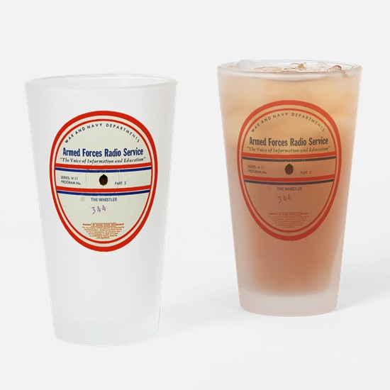 Armed Forces Radio Service Drinking Glass