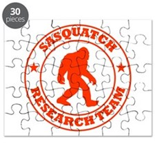 Sasquatch Research Team Puzzle