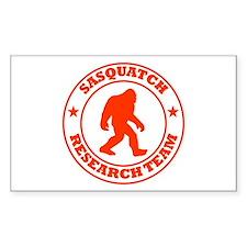 Sasquatch Research Team Decal