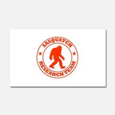 Sasquatch Research Team Car Magnet 20 x 12