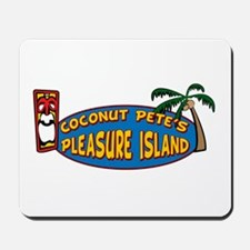 Coconut Pete's Pleasure Islan Mousepad