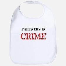 Partners in Crime Bib