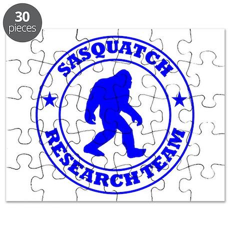 Sasquatch Research Team Puzzle