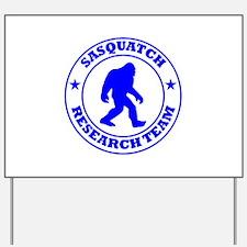 Sasquatch Research Team Yard Sign