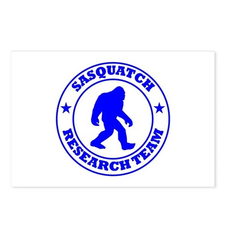 Sasquatch Research Team Postcards (Package of 8)