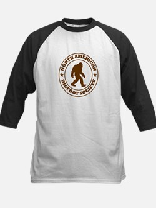 N. American Bigfoot Society Kids Baseball Jersey