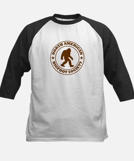 N. American Bigfoot Society Kids Baseball Jersey