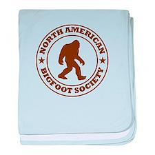 N. American Bigfoot Society baby blanket