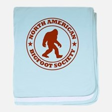 N. American Bigfoot Society baby blanket