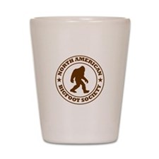 N. American Bigfoot Society Shot Glass