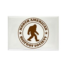 N. American Bigfoot Society Rectangle Magnet (10 p