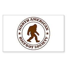 N. American Bigfoot Society Decal