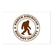 N. American Bigfoot Society Postcards (Package of
