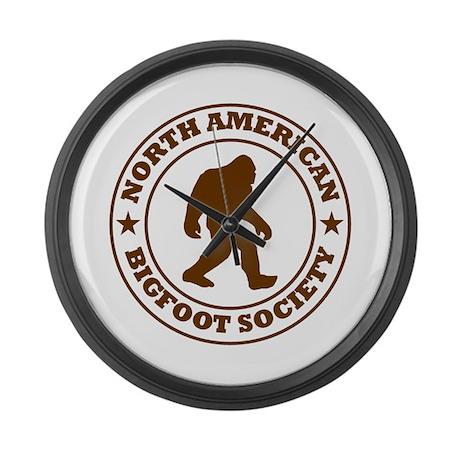 N. American Bigfoot Society Large Wall Clock