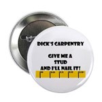 Ruler Dick's Carpentry Button
