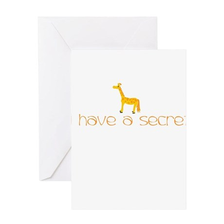 hs-giraffe front Greeting Cards