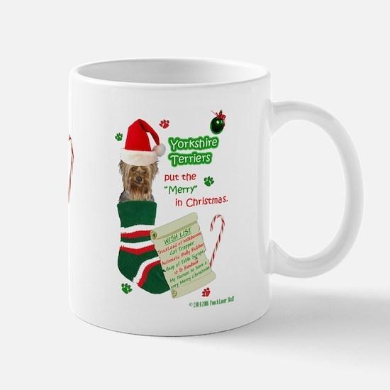 WishList2 -Mug -Yorkie,pc Mugs