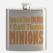 I Call Them Minions Flask