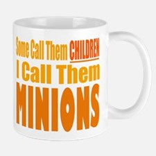 I Call Them Minions Small Small Mug