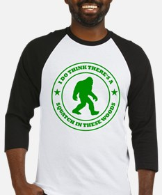 Squatch in These Woods Baseball Jersey