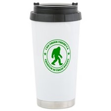 Squatch in These Woods Travel Mug