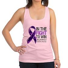 In The Fight Crohn's Disease Racerback Tank Top